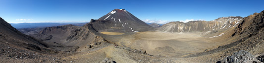 South Crater und Mt. Ngauruhoe
