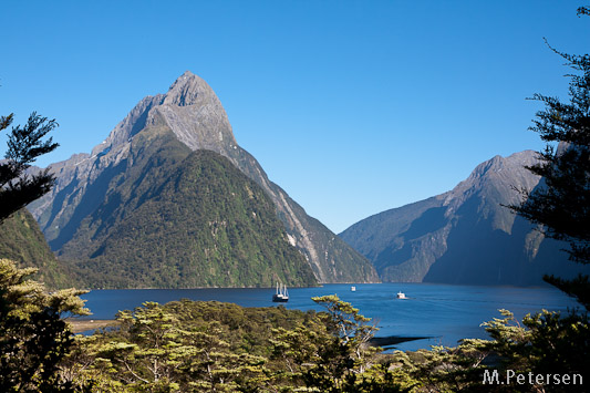 Mitre Peak - Milford Sound Lookout