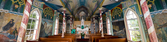 St. Benedict´s Painted Church